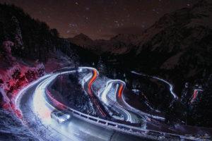 ALPINE A110 Pure, Malojapass, Roger Schaffner Photography