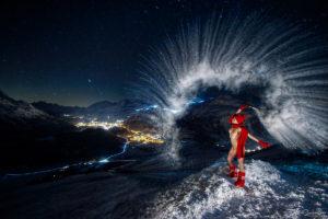 Nude Art; Mbemba; Muottas Muragl; St.Moritz; Engadin Montains